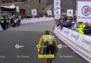 La tappa di oggi del Tour de France è stata sospesa a causa del maltempo