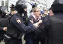 La polizia russa ha arrestato la dissidente Lyubov Sobol