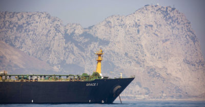 Gibilterra ha rilasciato la petroliera Grace 1, fermata il 4 luglio perché trasportava petrolio iraniano, nonostante una richiesta d'emergenza degli Stati Uniti