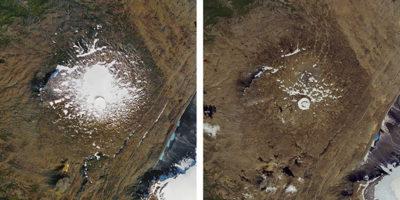 La commemorazione per la scomparsa del primo ghiacciaio islandese
