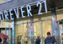La catena di abbigliamento Forever 21 ha chiesto l'amministrazione controllata