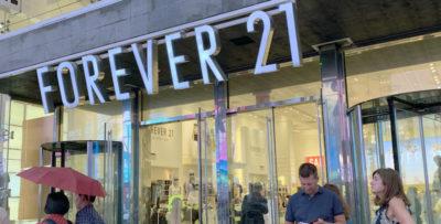 I guai di Forever 21