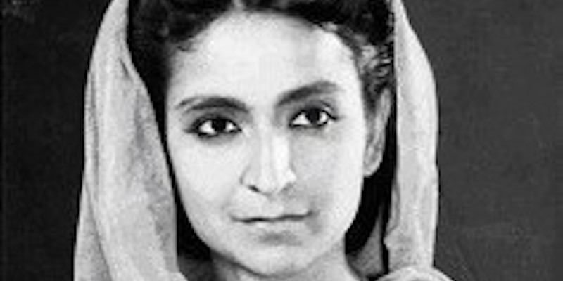 Amrita Pritam, la poetessa indiana ricordata da Google