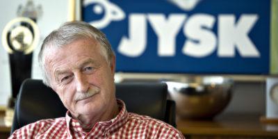 È morto il miliardario danese Lars Larsen, fondatore della catena di arredamento Jysk