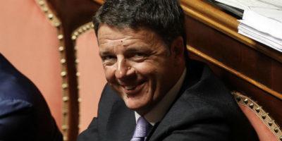 Matteo Renzi dice che si aspetta «un grazie»