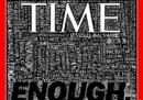 """La copertina di """"Time"""" sulle stragi di quest'anno negli Stati Uniti"""