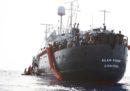 Il presidente della ong Sea Eye ha detto che l'equipaggio della nave Alan Kurdi è stato minacciato con le armi dalla Guardia costiera libica