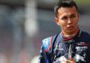 Alexander Albon sostituirà Pierre Gasly come seconda guida della Red Bull in Formula 1