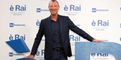 Amadeus nuovo conduttore e direttore artistico del Festival di Sanremo