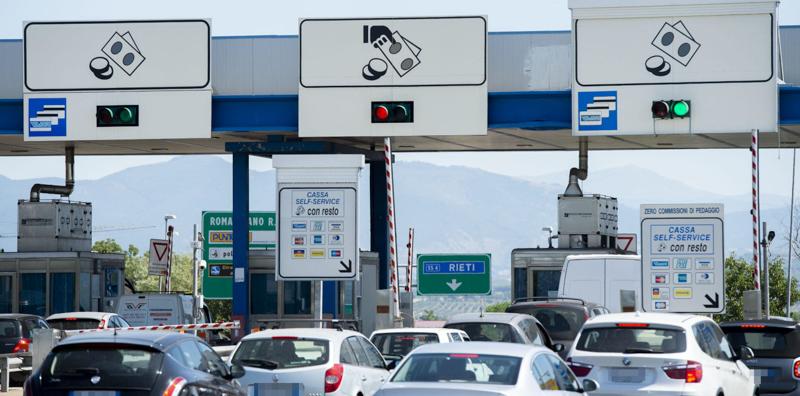 Le informazioni sul traffico sulle autostrade, per domenica 18 agosto