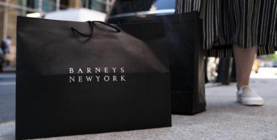 La catena di negozi di lusso Barneys New York ha chiesto l'amministrazione controllata