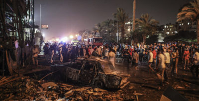 Egitto, auto causa maxi incidente Al Cairo