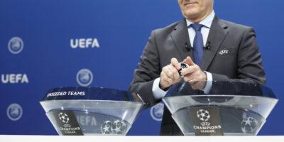 Le avversarie delle italiane nei gironi di Champions League
