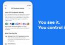 Facebook permetterà agli utenti di sapere quali dati raccoglie fuori da Facebook