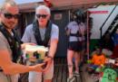 Richard Gere è andato a dare una mano sulla nave di Open Arms