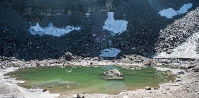 Il lago degli scheletri