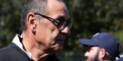 Maurizio Sarri, allenatore della Juventus, ha la polmonite