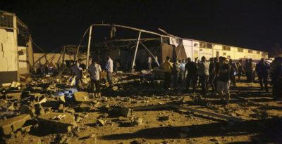La Libia dice che chiuderà tre grandi centri di detenzione per migranti