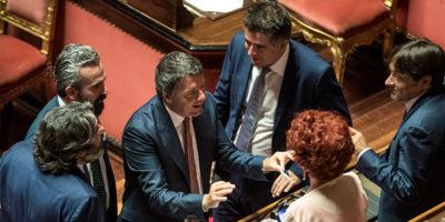 Matteo Renzi dice che «votare subito è folle»