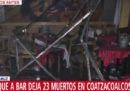 25 persone sono morte nell'incendio doloso di un bar a Coatzacoalcos, in Messico