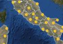 Meteo: le previsioni per domani, martedì 20 agosto