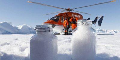 Sull'Artico nevicano microplastiche
