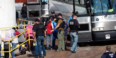 Uno dei più grandi arresti di immigrati irregolari negli Stati Uniti