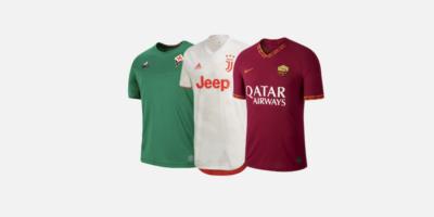 Le nuove maglie della Serie A