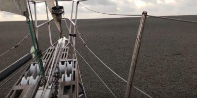 Nel sud dell'oceano Pacifico sta galleggiando un sacco di pomice