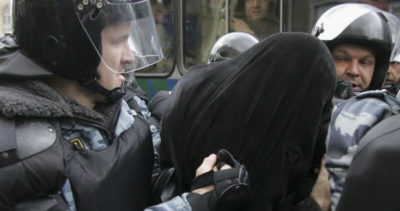 Cosa succede con gli arresti in Russia