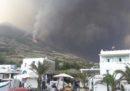 C'è stata un'eruzione a Stromboli