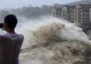 Il numero delle persone morte in Cina per il tifone Lekima è salito a 18