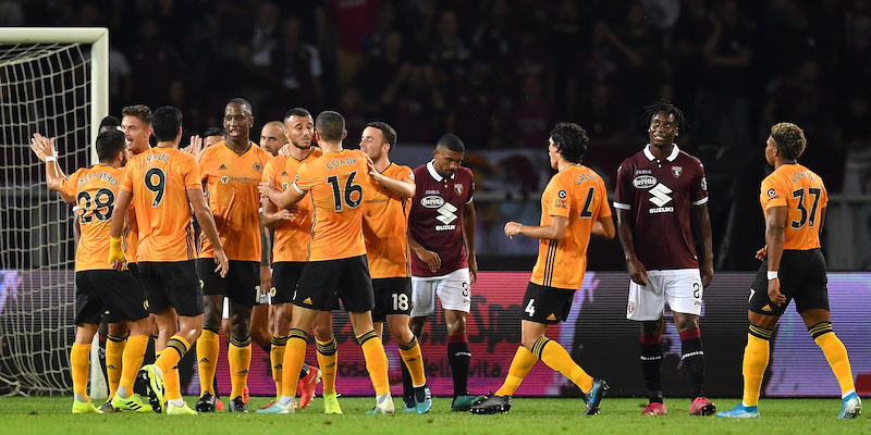 Il Torino è stato battuto 3-2 dal Wolverhampton nell'andata dei playoff di Europa League