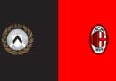 Udinese-Milan in diretta TV e in streaming