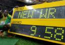 Il record mondiale sui 100 metri di Usain Bolt, dieci anni fa
