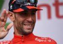 Vincenzo Nibali non parteciperà ai Mondiali di ciclismo nello Yorkshire