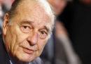 È morto Jacques Chirac