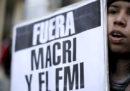 La crisi in Argentina è molto seria