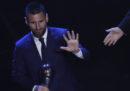 Lionel Messi ha vinto il premio FIFA come miglior calciatore del 2019