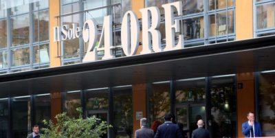 La Consob ha multato cinque ex dirigenti del Sole 24 Ore per oltre un milione di euro