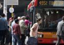 Lunedì a Roma ci sarà uno sciopero di alcune linee di mezzi pubblici