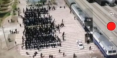 Cos'è questo inquietante video che arriva dalla Cina