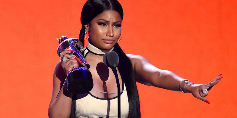 La rapper americana Nicki Minaj ha annunciato il suo ritiro