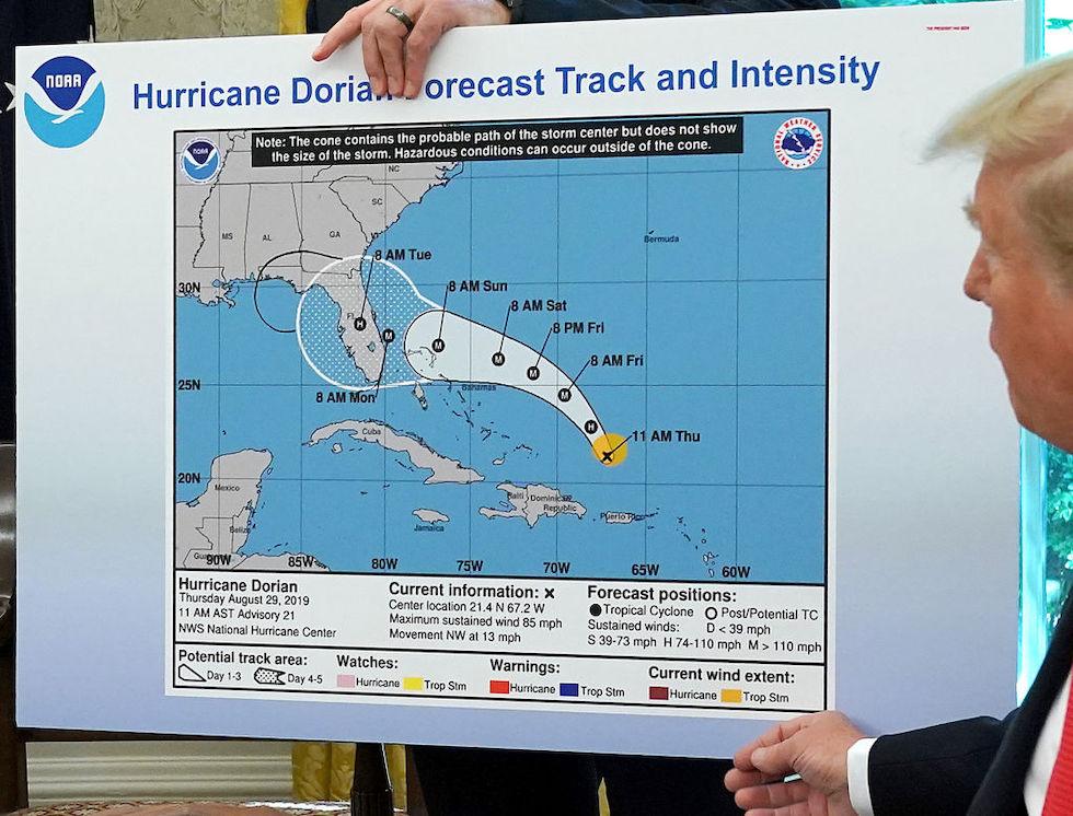 Uragano Dorian arriva negli Stati Uniti, si aggrava bilancio a Bahamas
