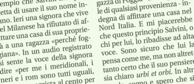 Sallusti chiede a Salvini di disconoscere i razzisti