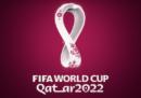 Il logo dei Mondiali di calcio del 2022 in Qatar
