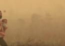 Centinaia di scuole del sud-est asiatico resteranno chiuse a causa dei fumi tossici causati dagli incendi delle foreste in Indonesia