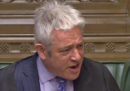 John Bercow, lo speaker della Camera bassa del Parlamento britannico, lascerà l'incarico a fine ottobre