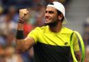 Il tennista italiano Matteo Berrettini si è qualificato alle semifinali degli US Open