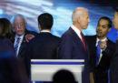 Il terzo confronto tra i candidati Democratici